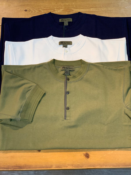 40s WORK HENLEY NECK