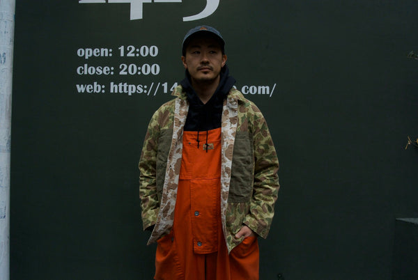 naval dungaree,overall,jacket,camouflage,military,parka,filson,オーバーオール,ジャケット,パーカー,ミリタリー