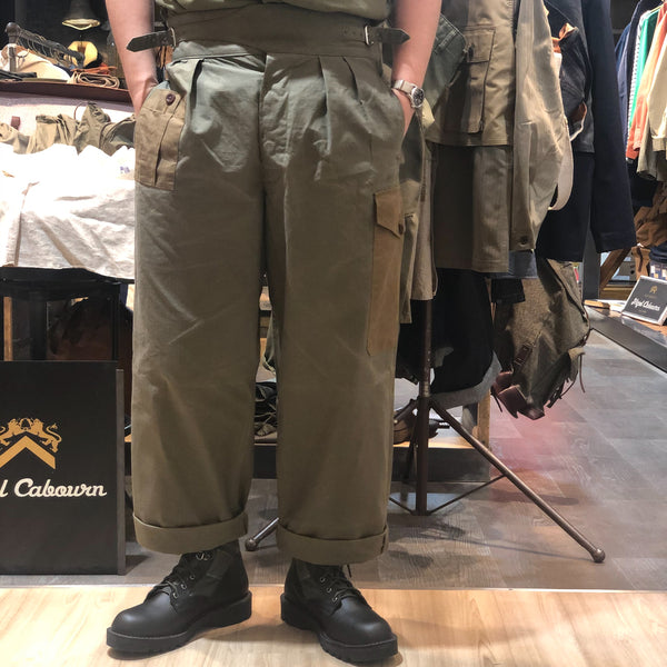 ARMY BUCKLE PANT①