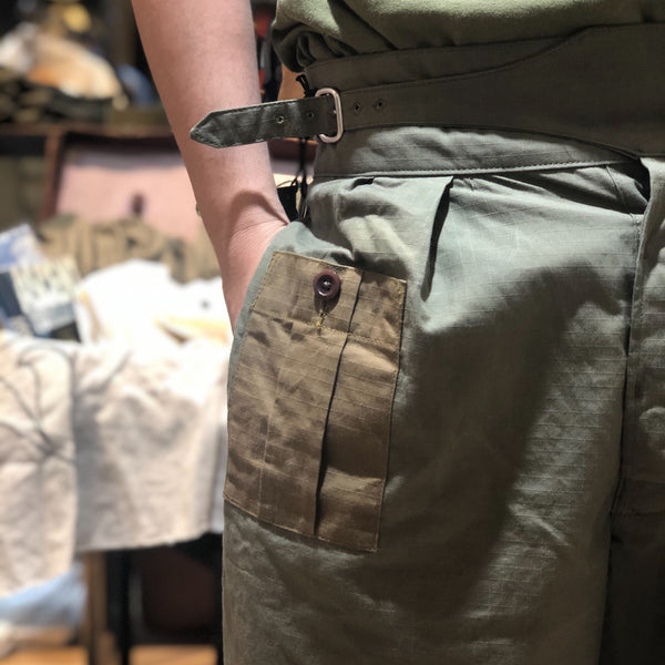 ARMY BUCKLE PANT ③