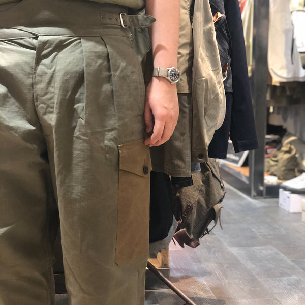 ARMY BUCKLE PANT ②