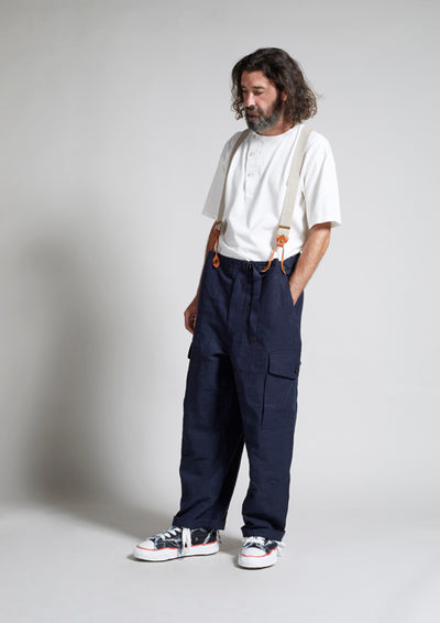 【SS20 MAN】S.A.S コンバットパンツ/S.A.S COMBAT PANT - HIGH DENSITY LINEN