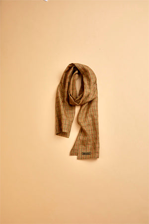 【SS19 MAN】 ストール/STOLE - LINEN OLD CHECK