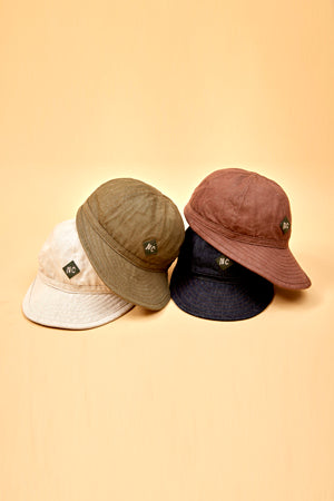【SS19 MAN】ベーシックキャップ/BASIC CAP - COTTON LINEN DENIM