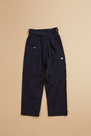 【SS19 WOMAN】バトルドレスパンツ/BATTLE DRESS PANT - COTTON SERGE