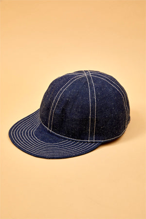 【SS19 UNISEX】 メカニックキャップ/MECHANICS CAP - 10oz JAPANESE DENIM