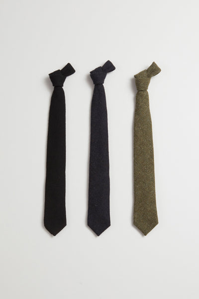 【AW19 MAN】ネクタイ/ TIE - WASHABLE WOOL