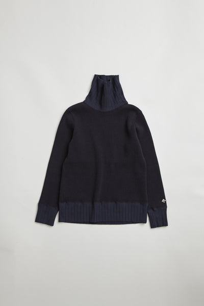【AW19 WOMAN】タートルネック/TURTLE NECK BIG WAFFLE