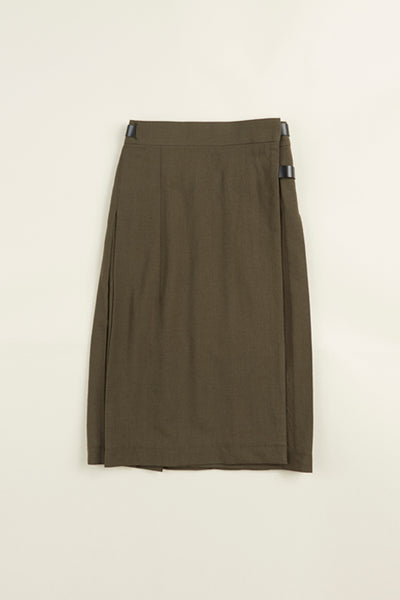 【AW19 WOMAN】キルトスカート/KILT SKIRT - WOOL SERGE