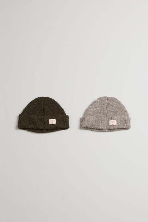 【AW19 UNISEX】ソリッドビーニー/SOLID BEANIE