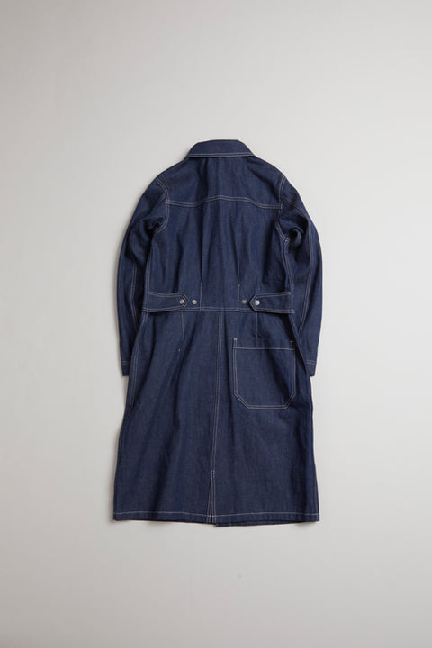 【AW19 WOMAN】ローデニムドレス/RAW DENIM DRESS