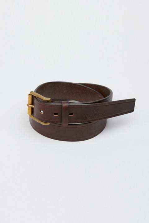 【SS20 MAN】40'S アーミーベルト / 40'S ARMY BELT - HOWEEN LEATHER CHROME XCEL