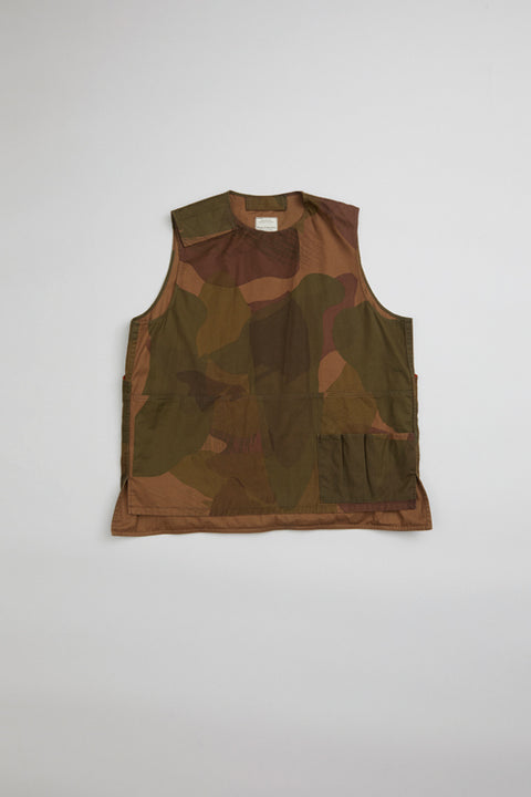【SS20 MAN】アーミーベスト / ARMY VEST - S.A.S. CAMOUFLAGE