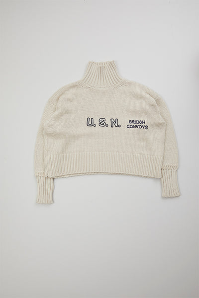 【AW20 WOMAN】エンブロイダリーニット / EMBROIDERY KNIT