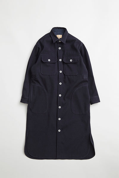 【AW20 WOMAN】ロングCPOドレス / LONG CPO DRESS - MELTON