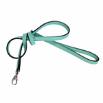 Hartman & Rose haute couture Mayfair lead - Tiffany blue with link rope chrome icon