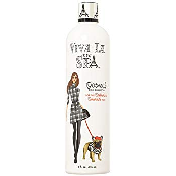 Viva La Spa dog grooming products from New York - oatmeal dog shampoo - TiaraPooches.Com