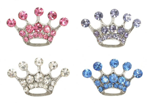 Diamante tiara charm for customisable collars 10mm