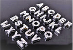 A-Z Diamante letters for customisable collars