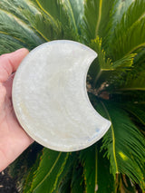 Resin art coaster- moon design 🌙