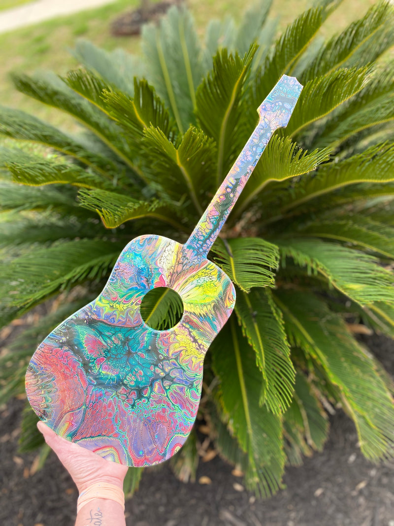 Wall Art-acoustic guitar style -24 inches