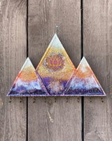 Mountain Wall Hanging Organizer