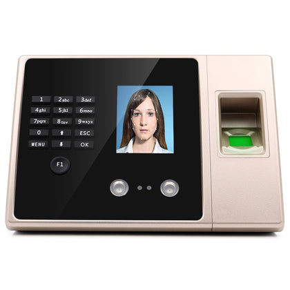 FA02 Face Recognition Fingerprint Time Attendance Machine with U Disk