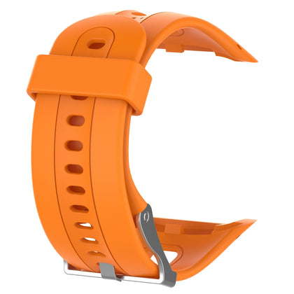 Silicone Sport Wrist Strap for Garmin Forerunner 10 / 15 (Orange)