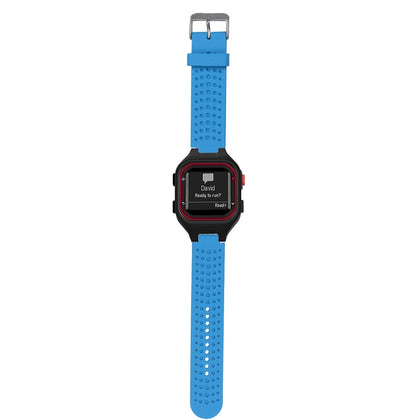 Male Adjustable Wrist Strap for Garmin Forerunner 25 (Sky Blue)