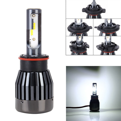 Motorcycle Headlights 30W 6000K 2100LM Bright White LED Bulbs Lamp, DC 9-36V