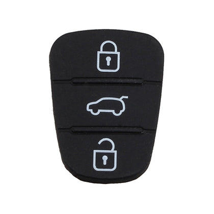 Replacement 2 Buttons Silicone Pad for Hyundai / Kia Car Key Shell, without Battery