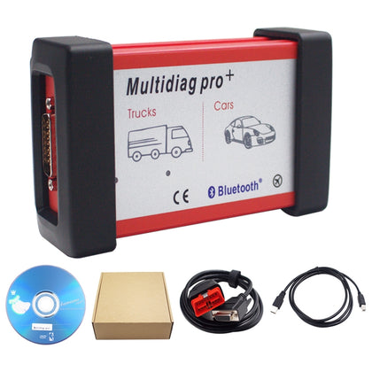 Multidiag Pro+ OBD2 CDP TCS CDP Bluetooth OBD2 Scan for Cars/Trucks OBDII Auto Diagnostic Scanner