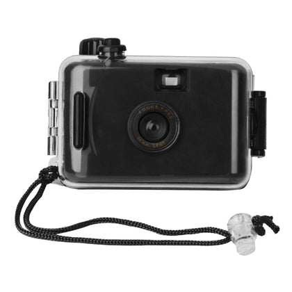 SUC4 5m Waterproof Retro Film Camera Mini Point-and-shoot Camera for Children (Black)
