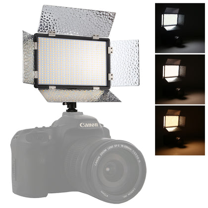 LED01 520 LEDs 4100LM Professional Vlogging Photography Video & Photo Studio Light for Canon / Nikon DSLR Cameras