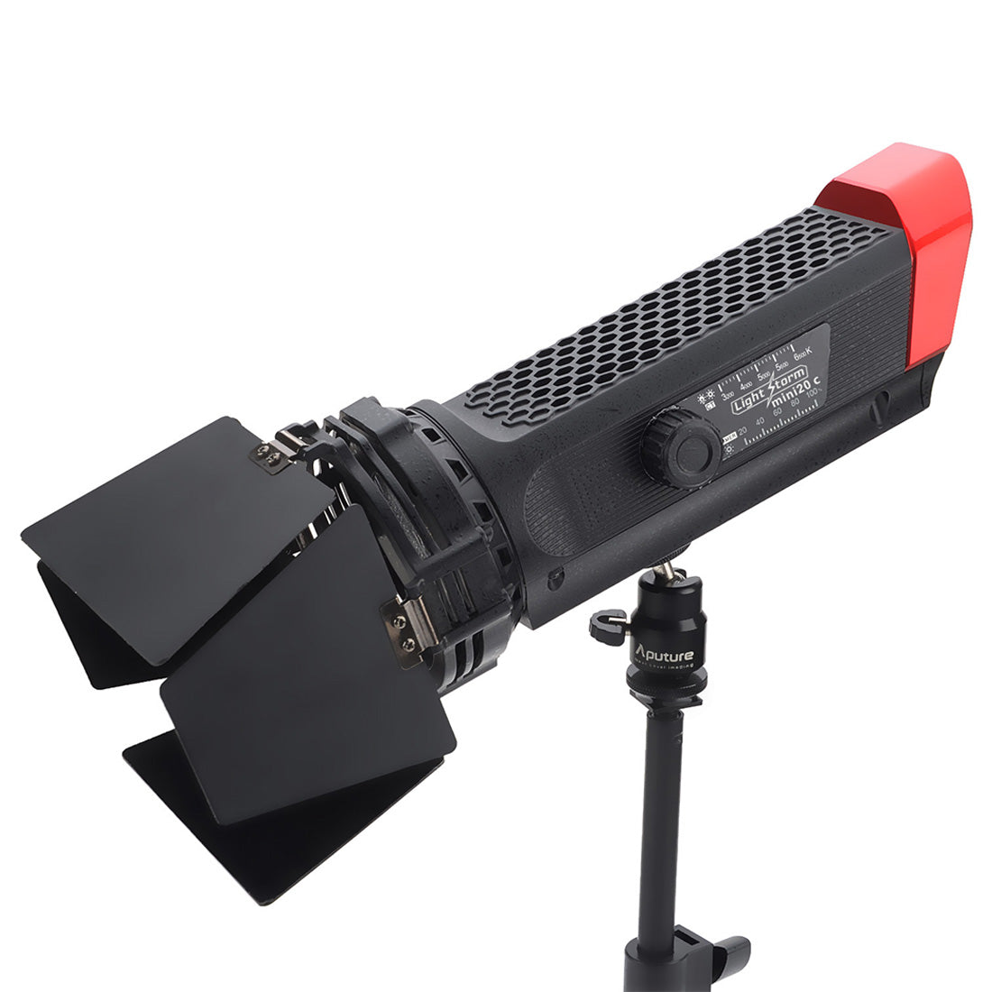 Aputure LS-mini20C Light Storm High Color Rendition TLCI 97 3200-6500K Beam Angle Adjustable COB LED Studio Video Light