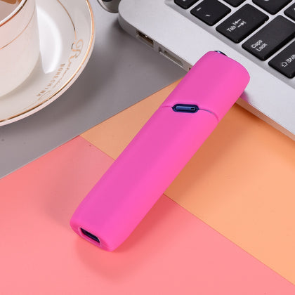 Slicone Electronic Cigarette Protective Case for IQOS MUTLI 3.0(Rose Red)