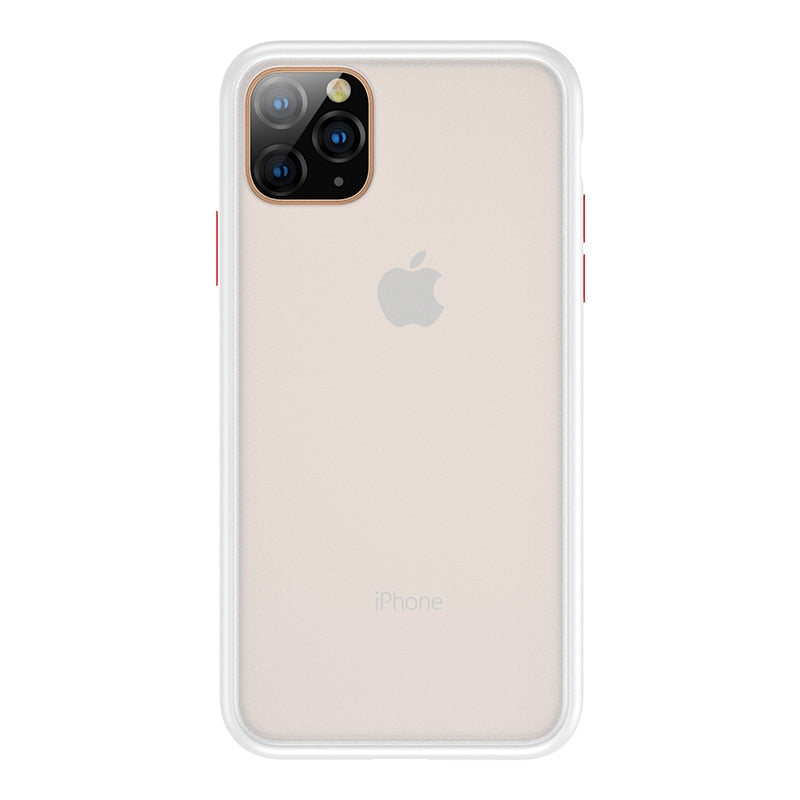 For iPhone 11 Benks Shockproof Frosted PC + TPU Protective Case(White)