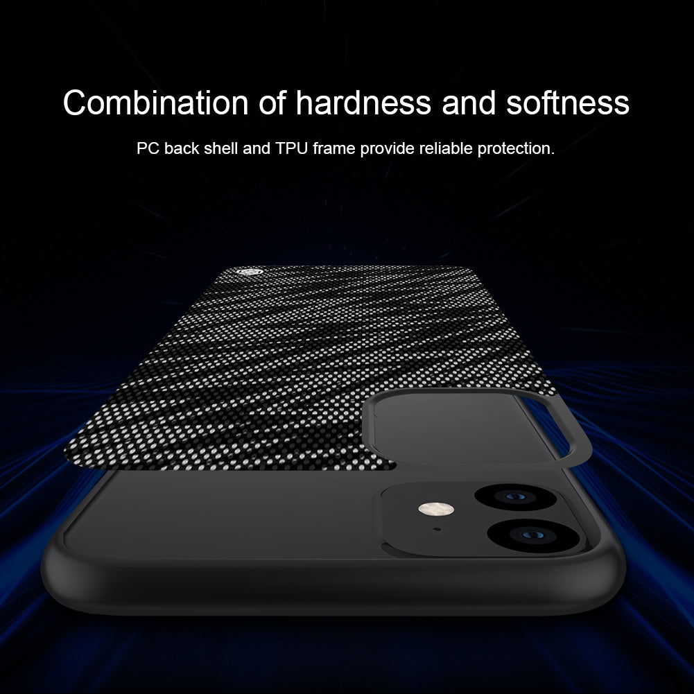 For iPhone 11 NILLKIN Brilliant Series Twinkle PC+TPU Protective Case(Rainbow)