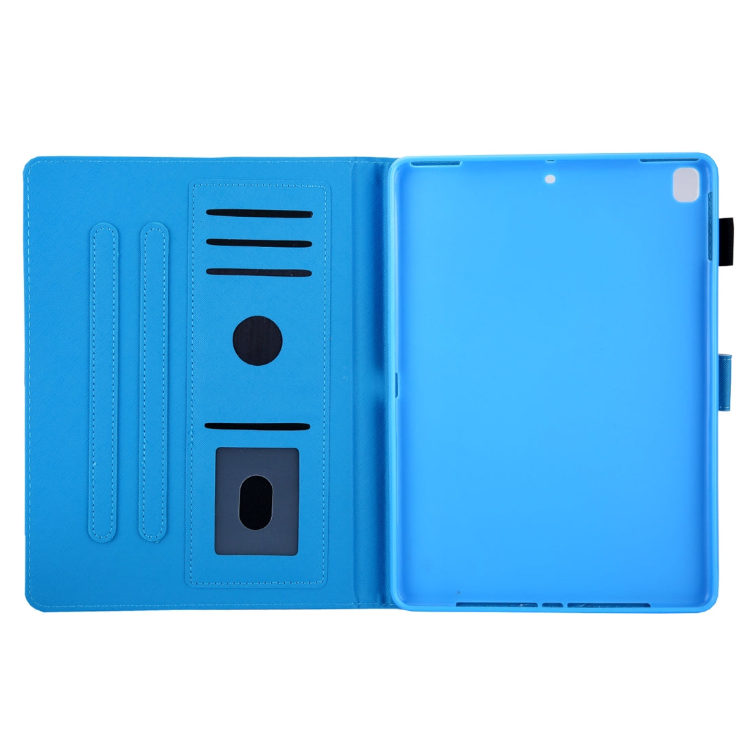 For iPad 10.2 Coloured Drawing Pattern Horizontal Flip Leather Case with Holder & Card Slot & Wallet(Gradual Change)