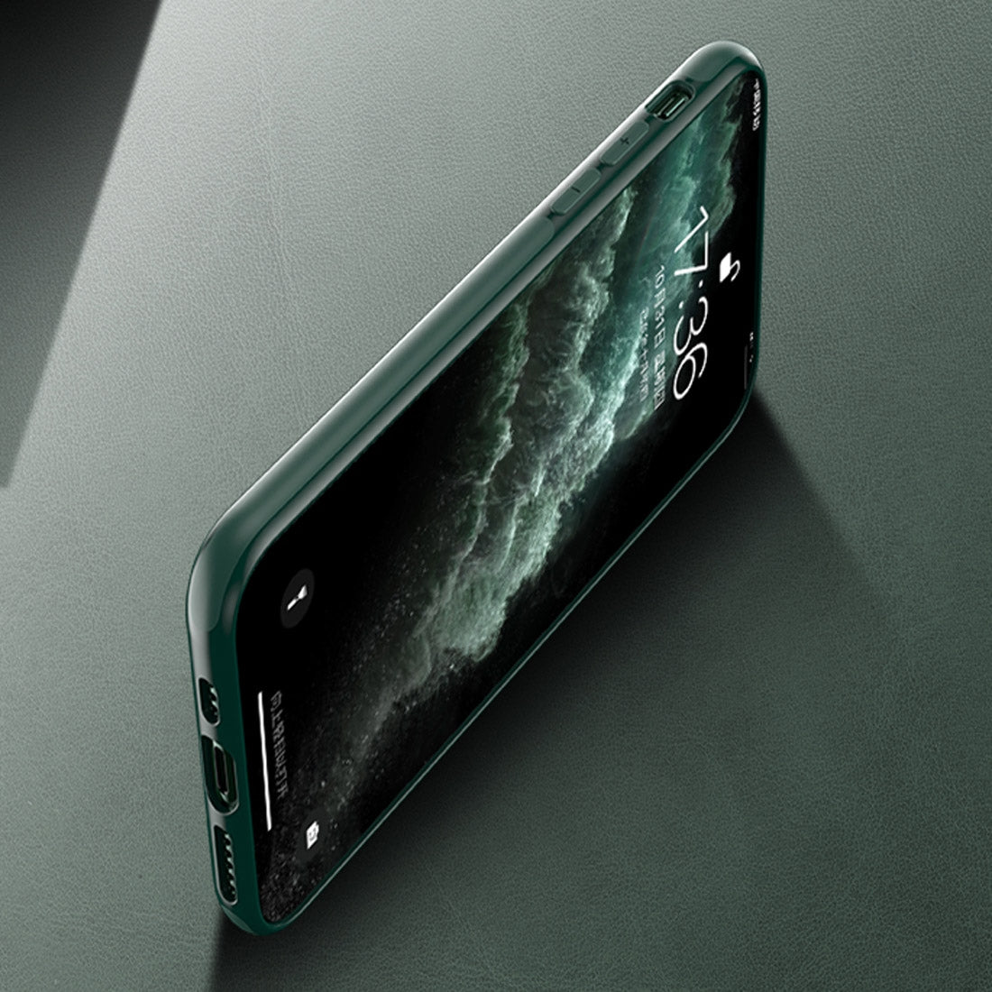 For iPhone 11 SULADA Magnetic Suction TPU Protective Case(Green)