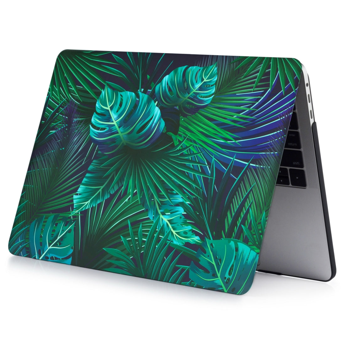 For Macbook Pro 16 inch Laptop Water Stick Style Protective Case(Palm Leaf)