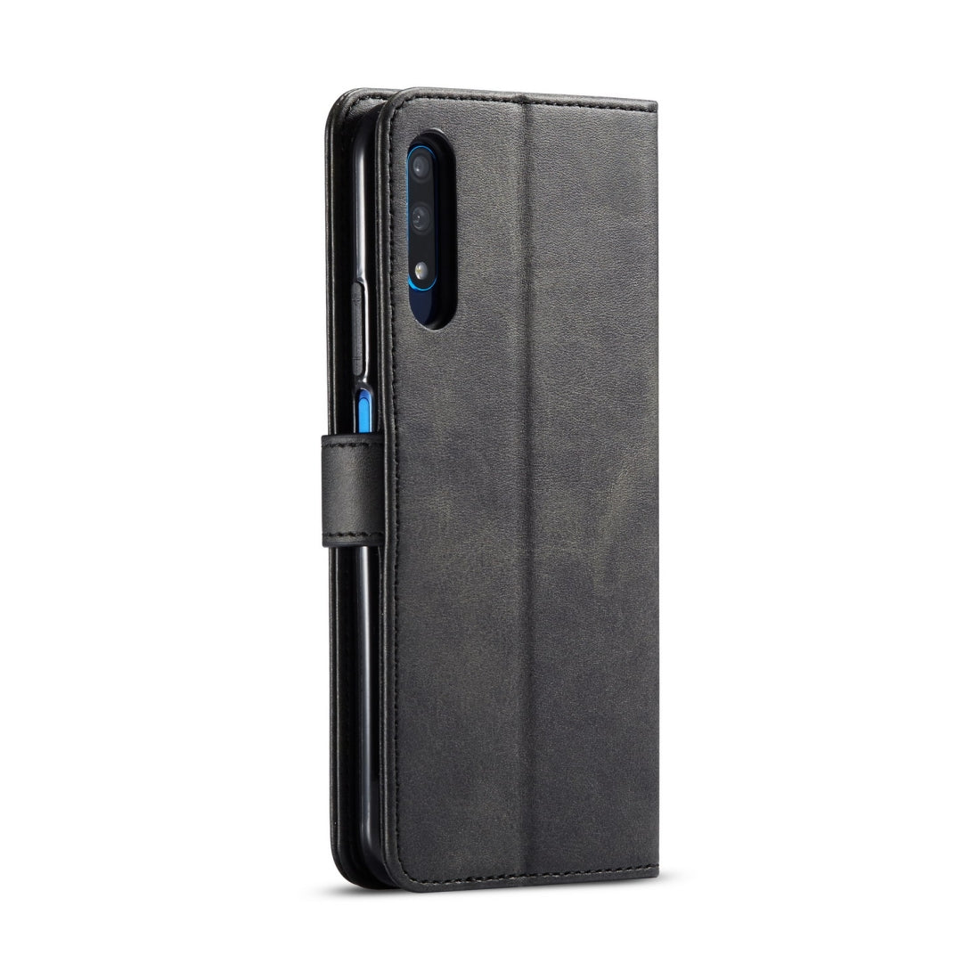 For Huawei Honor 9X / 9X Pro LC.IMEEKE Calf Texture Horizontal Flip Leather Case, with Holder & Card Slots & Wallet(Black)