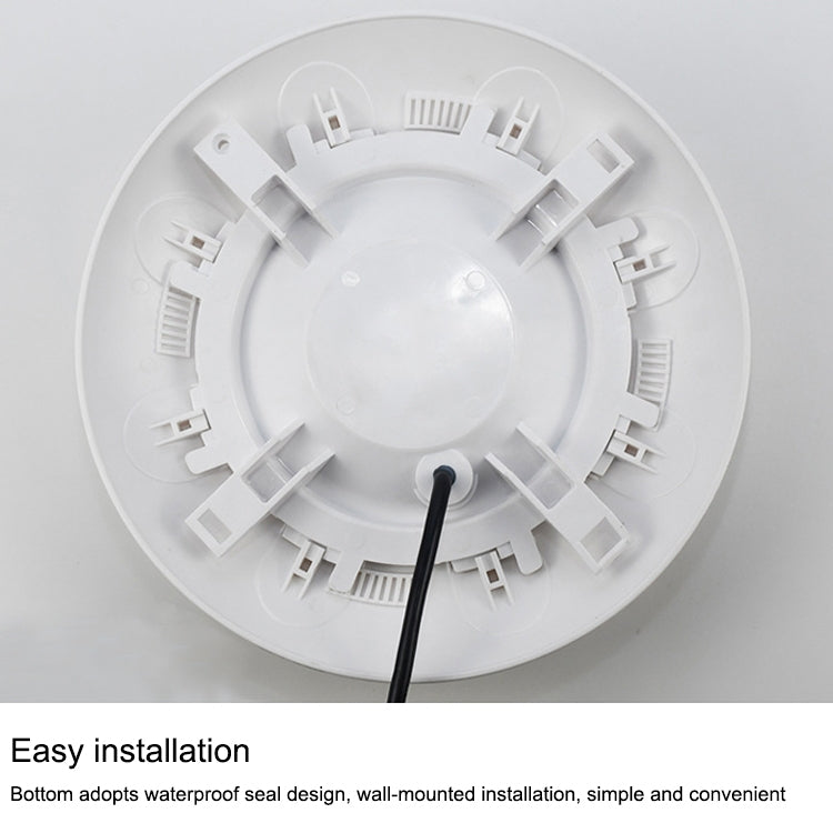 9W ABS Plastic Swimming Pool  Wall Lamp Underwater Light(Colorful)