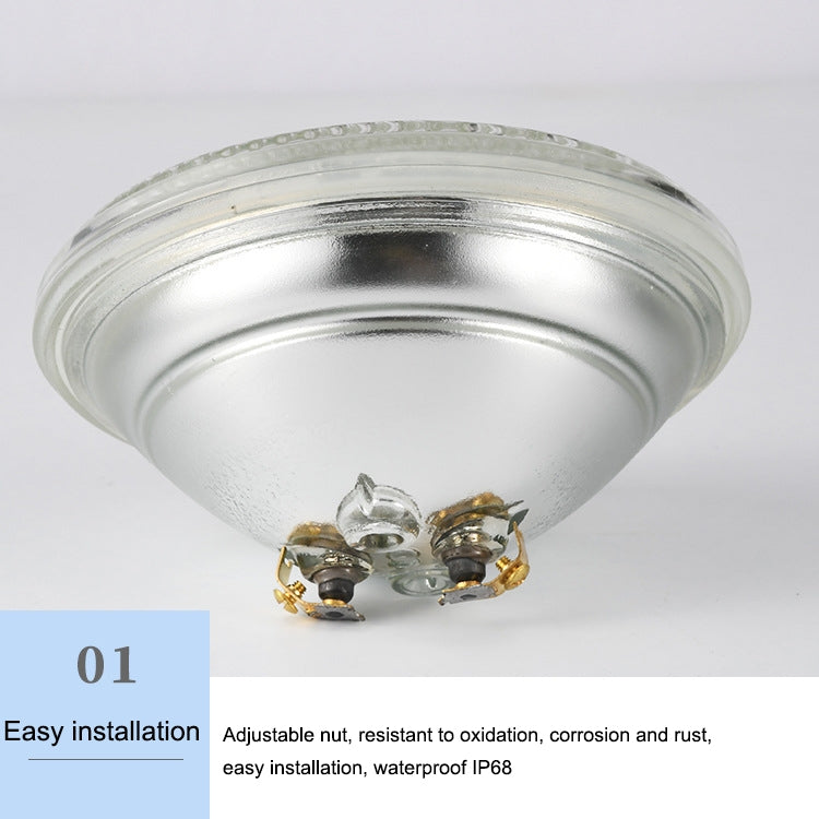 12W LED Recessed Swimming Pool Light Underwater Light Source(Colorful Light)