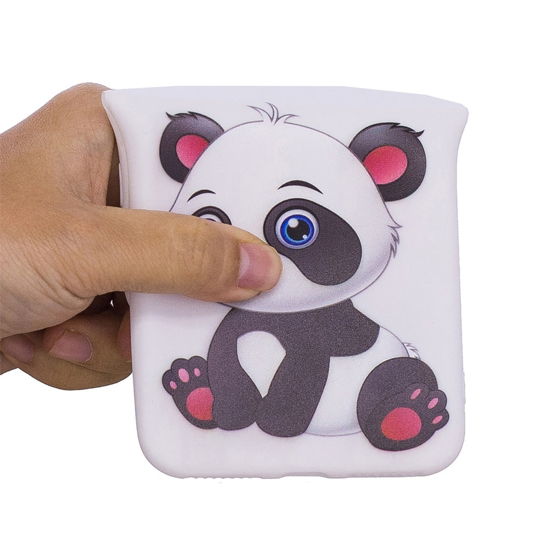 For Galaxy S9+ Shockproof Cartoon TPU Protective Case(Panda)