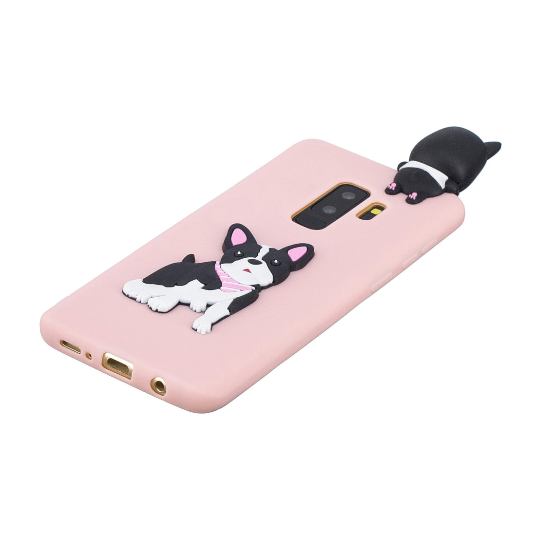For Galaxy S9+ 3D Cartoon Pattern Shockproof TPU Protective Case(Cute Dog)