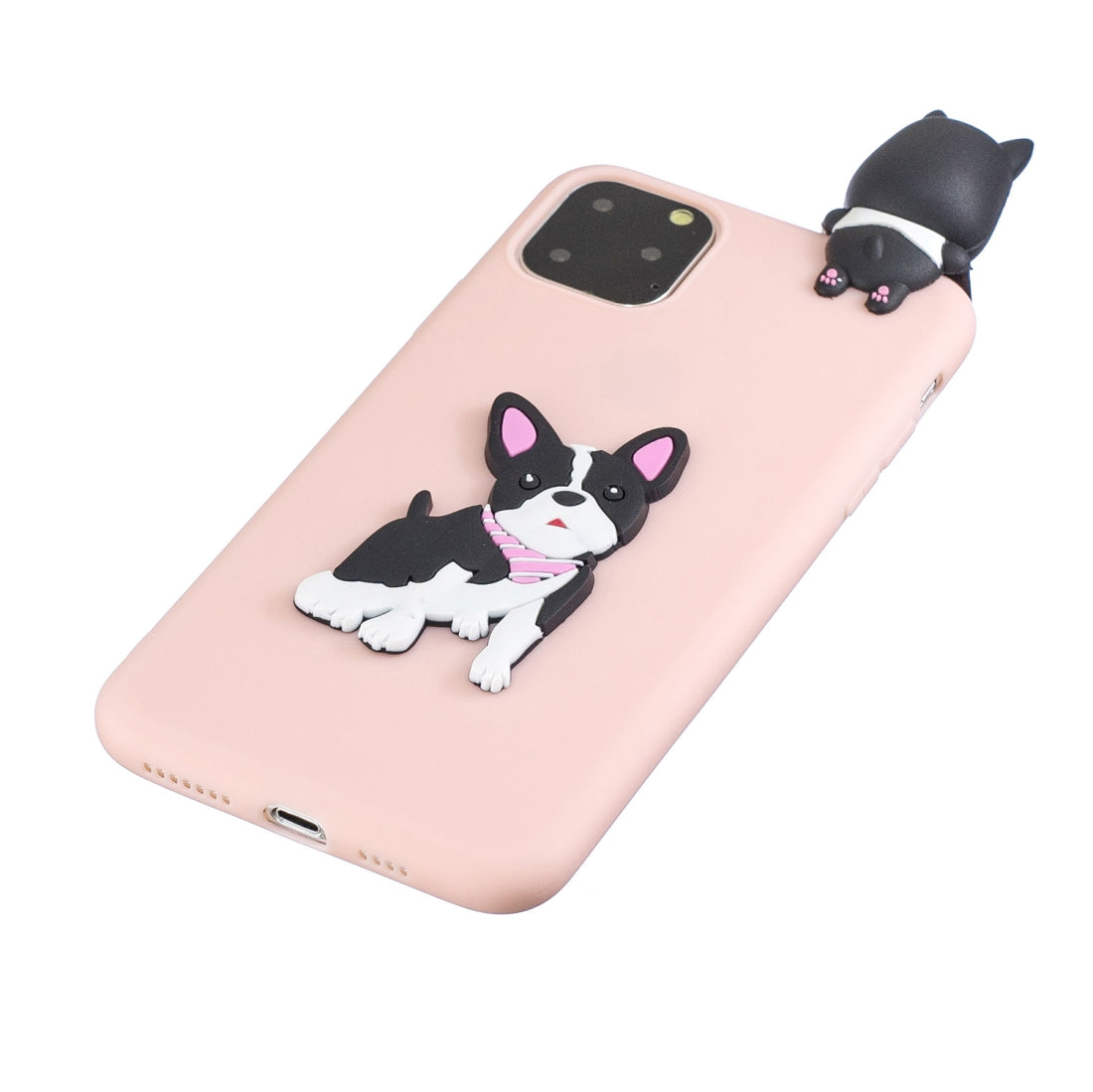 For iPhone 11 3D Cartoon Pattern Shockproof TPU Protective Case(Cute Dog)