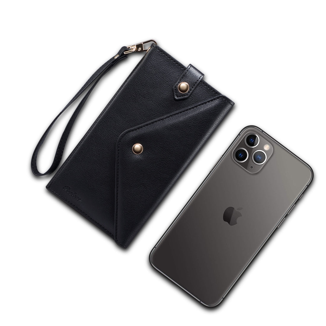 For 6.5 inch and Below Multifunctional Phone Retro Frosted Horizontal Flip Leather Case with Card Slot & Holder &  Wallet & Photo Frame & Lanyard(Black)