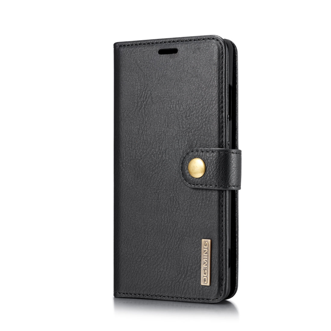 For Sony Xperia XZ3 DG.MING Crazy Horse Texture Flip Detachable Magnetic Leather Case with Holder & Card Slots & Wallet(Black)