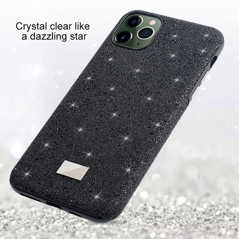For iPhone 11 Mutural TPU + PC + Diamond Cloth Protective Case(Silver)